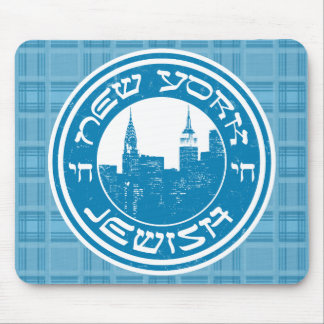 New York Jewish Mousemat Mouse Pad