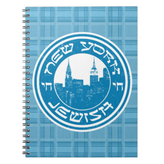 New York Jewish Notepad Notebooks
