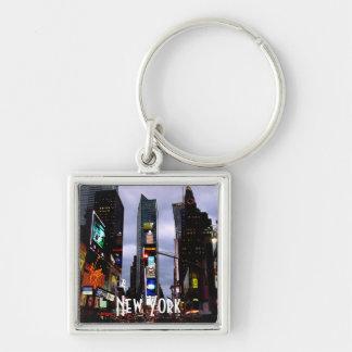 New York Key Chain Times Square Custom NY Keychain