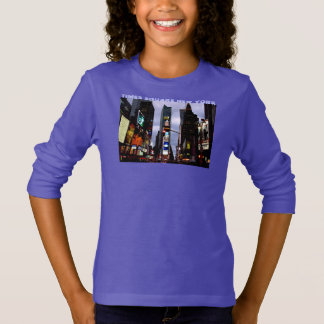 New York Kid's Sweatshirt NYC Times Square Shirt