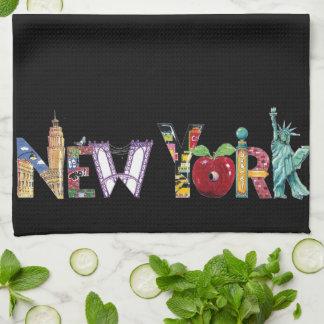 New York kitchen towel