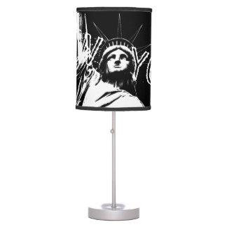 New York Lamp Custom New York Landmark Souvenir