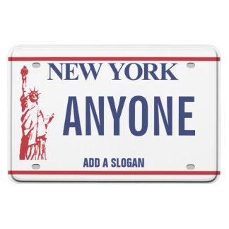 New York License Plate (personalized) Magnet