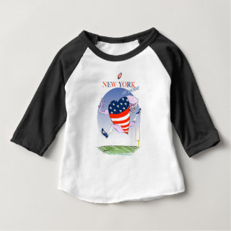 New York Loud and Proud, tony fernandes Baby T-Shirt