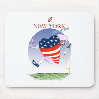 new york loud and proud, tony fernandes mouse pad