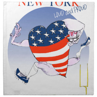 new york loud and proud, tony fernandes napkin