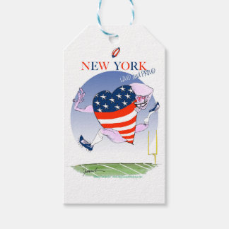 new york loud and proud, tony fernandes pack of gift tags
