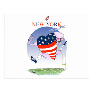 new york loud and proud, tony fernandes postcard
