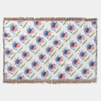 New York Loud and Proud, tony fernandes Throw Blanket