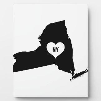New York Love Plaque