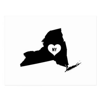 New York Love Postcard