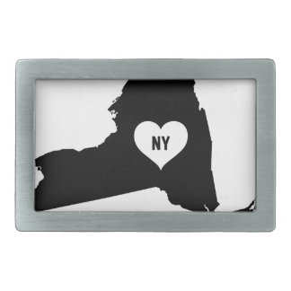 New York Love Rectangular Belt Buckles