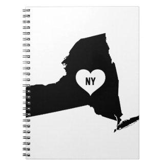 New York Love Spiral Notebook
