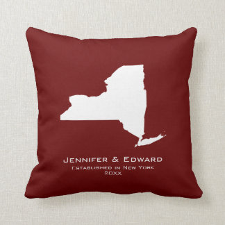 New York  Love Throw Pillow