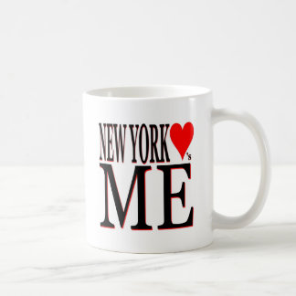 New York Loves Me Coffee Mug