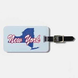 New York Luggage Tag