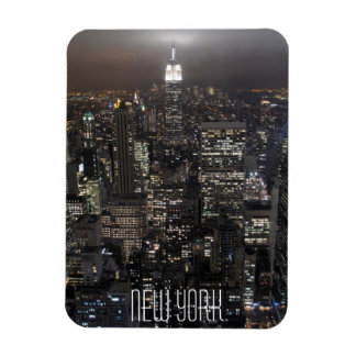 New York Magnet NY City Lights NY Skyline Souvenir