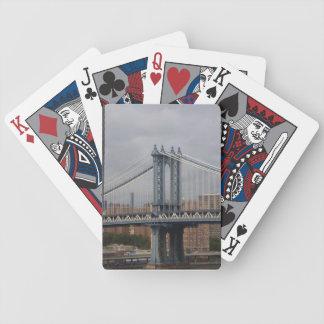 new york manhattan bridge cards