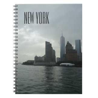 New York Manhattan Hudson River Note Pad Notebooks