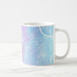 New York Map #1 Coffee Mug