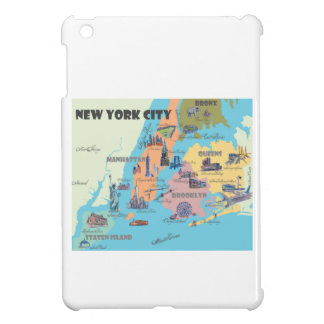 New York  Map Cover For The iPad Mini