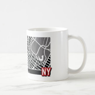 New York map Mug