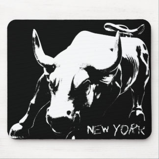 New York Mousepad Bull Landmark New York Gifts