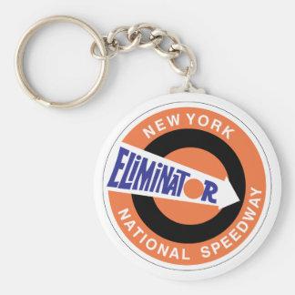 New York National Speedway Keychain