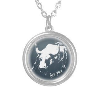 New York Necklace Bull Statue NYC Souvenir