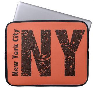 New York Neoprene Laptop Sleeve 15 inch