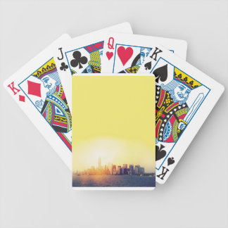 New York New York Bicycle Playing Cards
