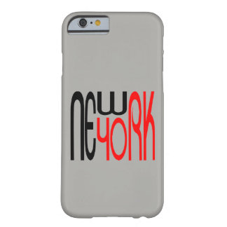 New York, New York City Typestyle Modern Cool Barely There iPhone 6 Case