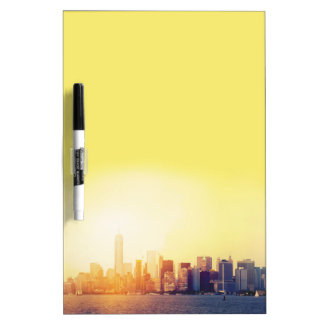 New York New York Dry Erase Board