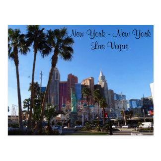 New York – New York Hotel #2 Postcard