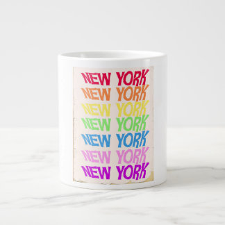 New York New York Large Coffee Mug
