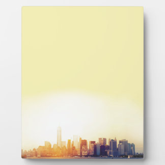 New York New York Plaque