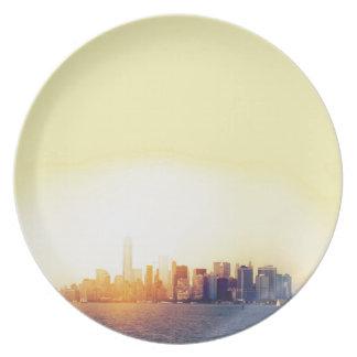 New York New York Plate