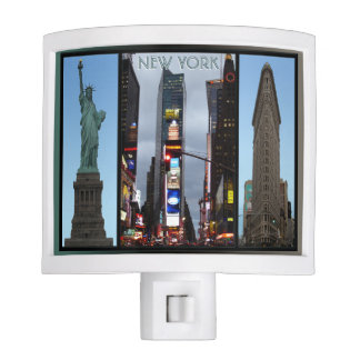 New York Nightlight New York Landmark Night Light