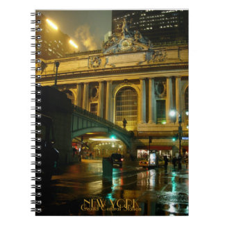 New York Notebook Romantic Grand Central Journal