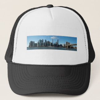 New York November panorama Trucker Hat