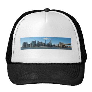 New York November panorama Trucker Hat