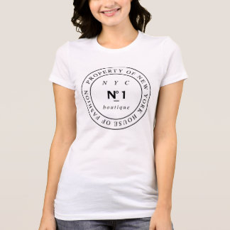 New York Number 1 Boutique T-Shirt