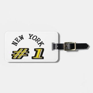 New York Number 1 Luggage Tag
