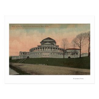 New York, NY - Hall of Fame, New York University Postcard
