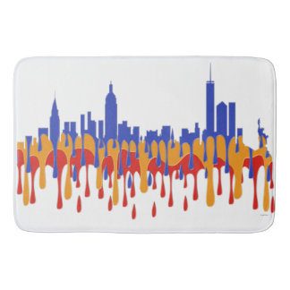 NEW YORK, NY SKYLINE  - GAUGAN BATHROOM MAT