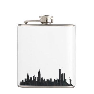 NEW YORK, NY SKYLINE OILS - FLASKS