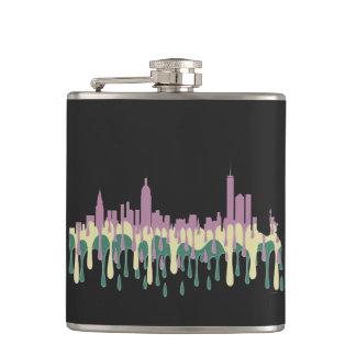 NEW YORK, NY SKYLINE PCG - FLASK