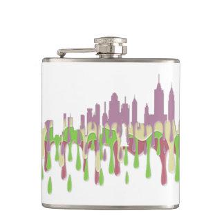 NEW YORK, NY SKYLINE PCGP - HIP FLASK