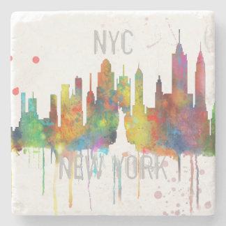 NEW YORK, NY SKYLINE - Stone Drinks Coaster