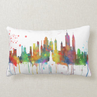 NEW YORK, NY SKYLINE - Throw pillow